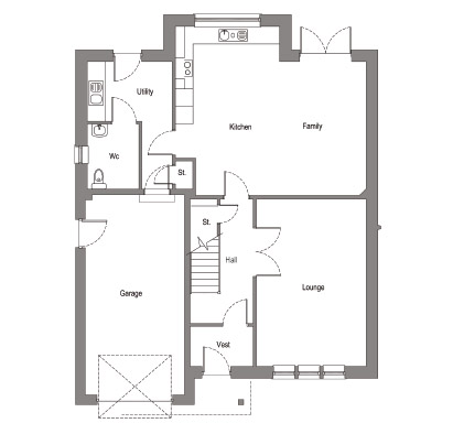 304133781071065430 as well Efficient Setting Of Modern Apartment Bedroom Interior Painted In Neutral White And Light Brown  bination To Warm Up The Room in addition Garage With A Fabulous Guest Apartment Above 3849ja also Plot Types 32397 33946 moreover Plot 6. on 1 bedroom house plan with kitchen and lounge